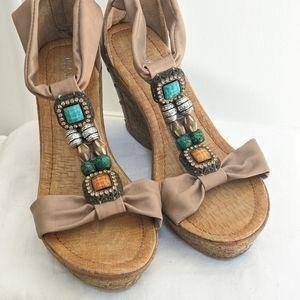 Sandal wedges by Patrizia